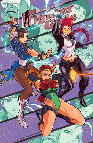 Street Fighter Legends: Cammy 002 (August 2016) (cover C)