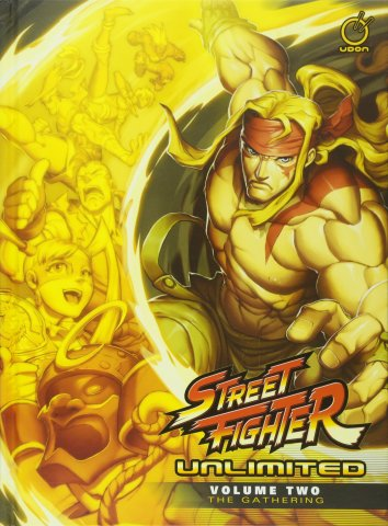 Street Fighter Unlimited HC Volume 2: The Gathering