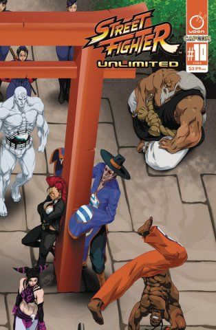 Street Fighter Unlimited 010 (September 2016) (cover B)