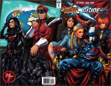 Street Fighter X G.I. JOE 001 (February 2016) (Heroes & Fantasies retailer exclusive)