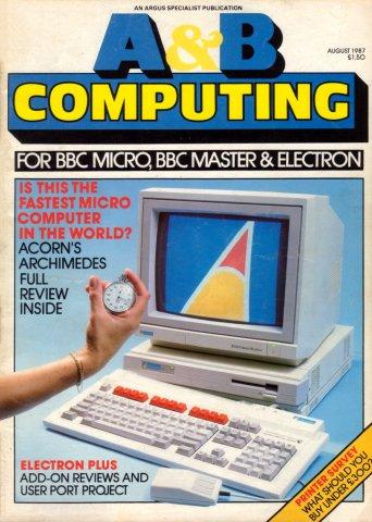A&B Computing Vol.4 No.08 (August 1987)