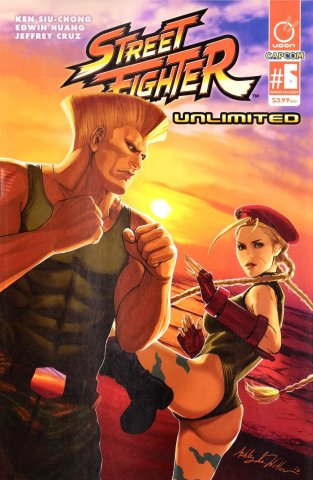 Street Fighter Unlimited 006 (May 2016) (AOD Collectibles exclusive)