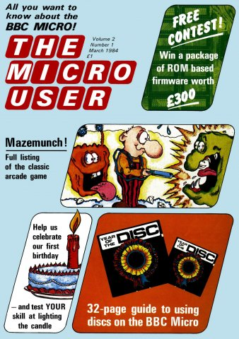 The Micro User Vol.02 No.01 (March 1984)