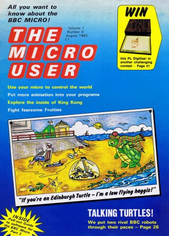 The Micro User Vol.01 No.06 (August 1983)