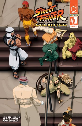 Street Fighter Unlimited 007 (June 2016) (cover B)