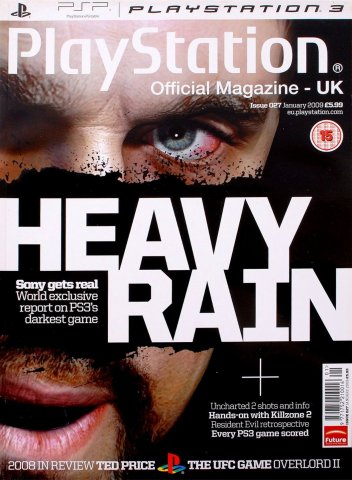 Playstation Official Magazine UK 027 (January 2009)