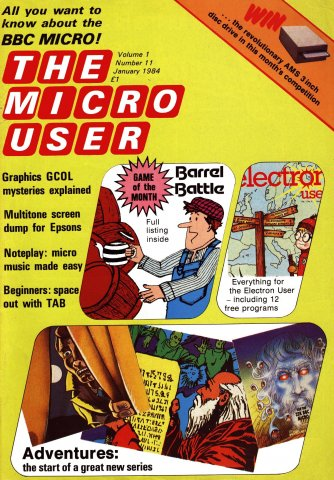 The Micro User Vol.01 No.11 (January 1984)