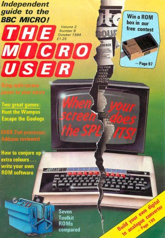 The Micro User Vol.02 No.08 (October 1984)