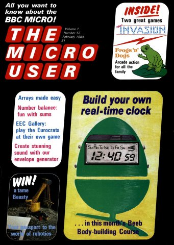 The Micro User Vol.01 No.12 (February 1984)