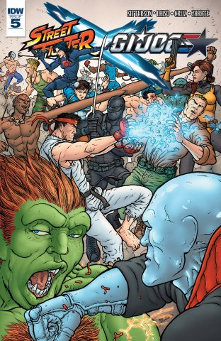 Street Fighter X G.I. JOE 005 (June 2016)
