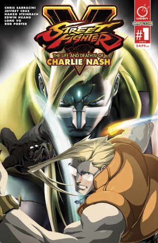 Street Fighter V - The Life and Death(s) of Charlie Nash (March 2016) (cover A)