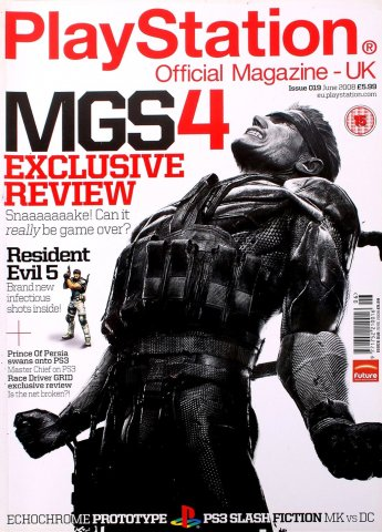 Playstation Official Magazine UK 019 (June 2008)