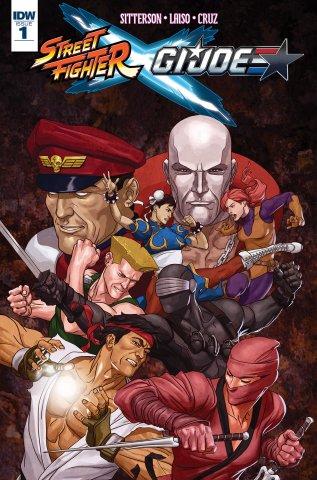 Street Fighter X G.I. JOE (IDW)