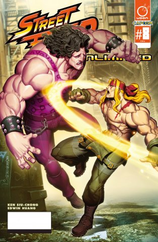 Street Fighter Unlimited 008 (July 2016) (cover A)