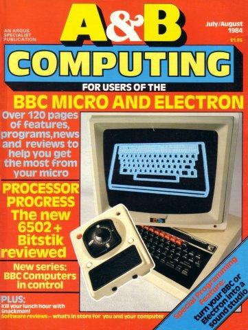A&B Computing Vol.1 No.08 (July/August 1984)