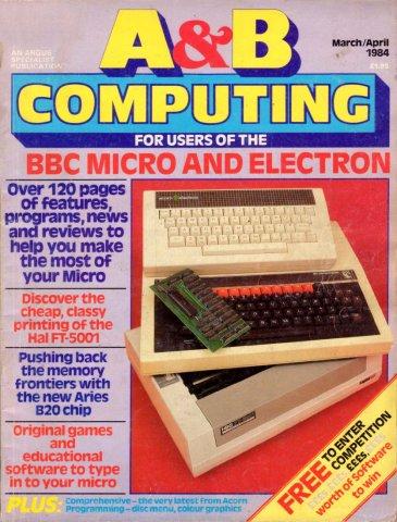 A&B Computing Vol.1 No.06 (March/April 1984)