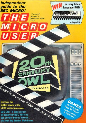 The Micro User Vol.02 No.07 (September 1984)