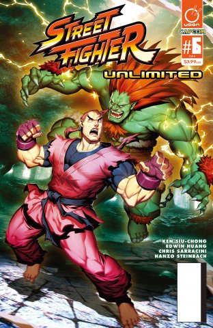 Street Fighter Unlimited 006 (May 2016) (cover A)