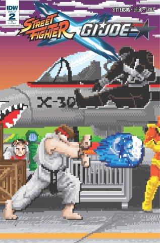 Street Fighter X G.I. JOE 002 (March 2016) (Matthew Waite Retailer Incentive variant)