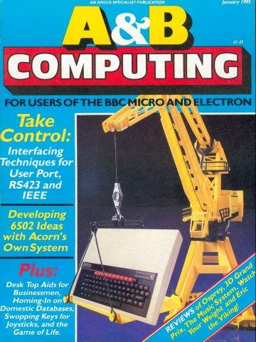 A&B Computing Vol.2 No.01 (January 1985)