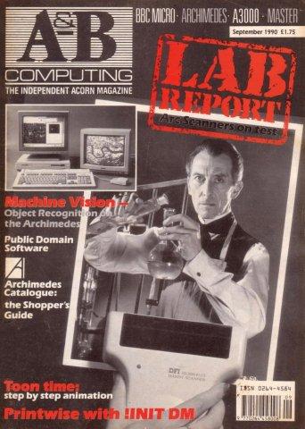A&B Computing Vol.7 No.09 (September 1990)
