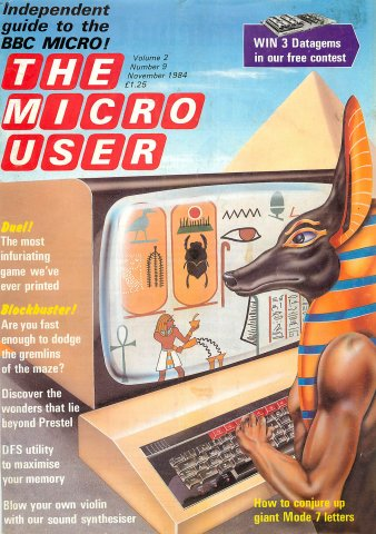 The Micro User Vol.02 No.09 (November 1984)