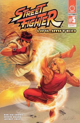 Street Fighter Unlimited 005 (April 2016) (AOD Collectibles exclusive)