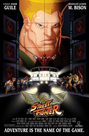 Street Fighter Unlimited 007 (June 2016) (cover C - movie variant)