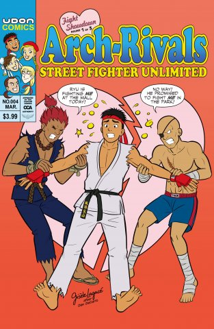 Street Fighter Unlimited 004 (March 2016) (cover C)