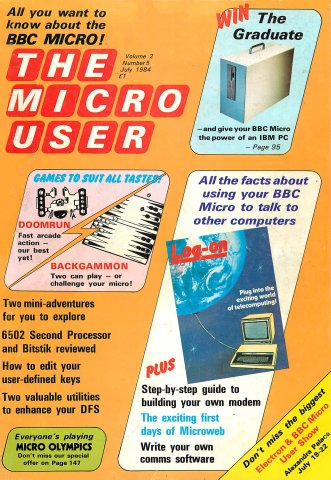 The Micro User Vol.02 No.05 (July 1984)
