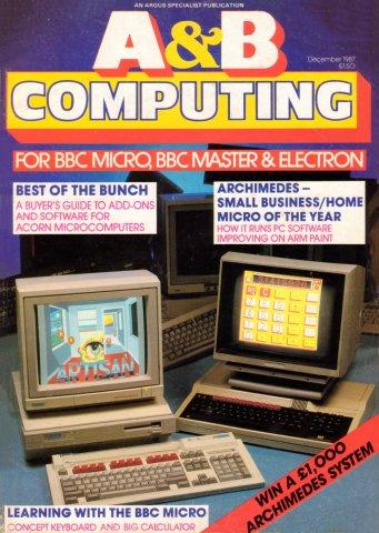 A&B Computing Vol.4 No.12 (December 1987)