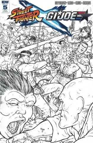 Street Fighter X G.I. JOE 005 (June 2016) (Retailer Incentive B)