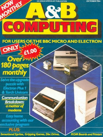 A&B Computing Vol.1 No.09 (October 1984)