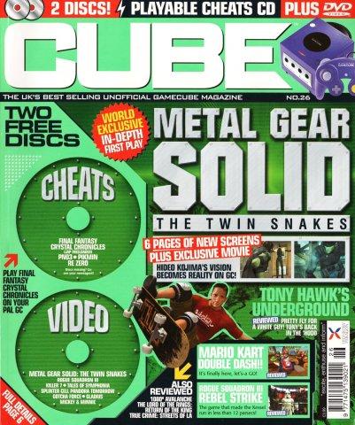 Cube Issue 26 (Xmas 2003)
