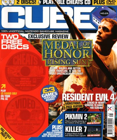 Cube Issue 25 (December 2003)