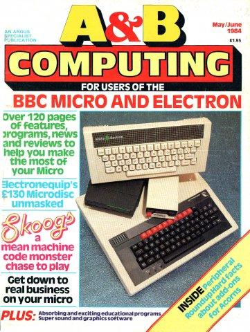 A&B Computing Vol.1 No.07 (May/June 1984)