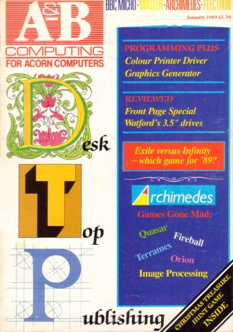 A&B Computing Vol.6 No.01 (January 1989)