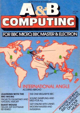 A&B Computing Vol.4 No.07 (July 1987)