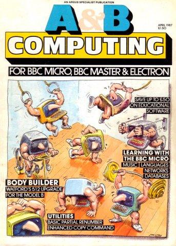 A&B Computing Vol.4 No.04 (April 1987)