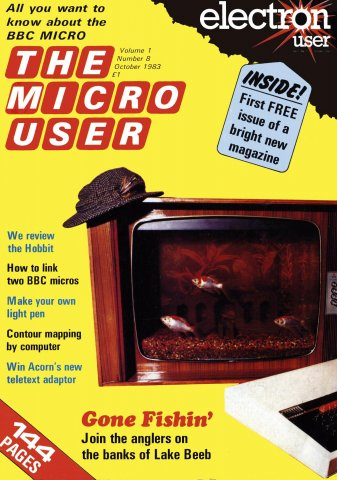 The Micro User Vol.01 No.08 (October 1983)