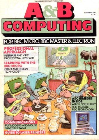 A&B Computing Vol.4 No.09 (September 1987)