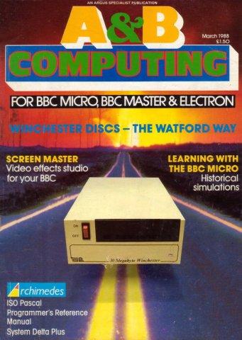 A&B Computing Vol.5 No.03 (March 1988)