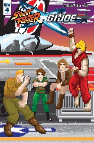 Street Fighter X G.I. JOE 004 (May 2016) (Matthew Waite Retailer Incentive variant)
