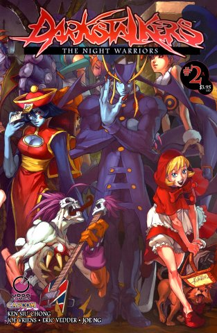 Darkstalkers: The Night Warriors 02 (April 2010) (Cover A)