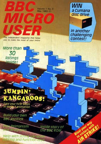 BBC Micro User Vol.01 No.03 (May 1983)