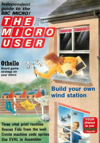 The Micro User Vol.03 No.04 (June 1985)