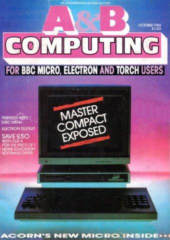 A&B Computing Vol.3 No.10 (October 1986)
