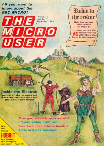 The Micro User Vol.01 No.07 (September 1983)