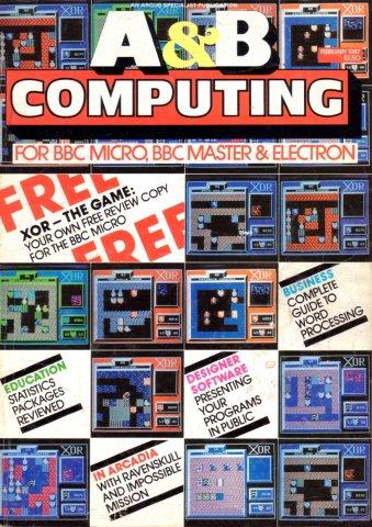 A&B Computing Vol.4 No.02 (February 1987)