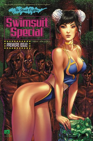 Street Fighter Swimsuit Special (September 2016) (cover D)
